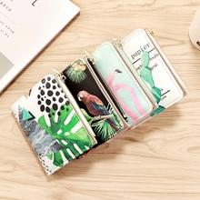 Женский кошелек короткий кошелек из искусственной кожи Женский кошелек на застежке и молнии качественный женский держатель для карт кошелек для кредитных карт