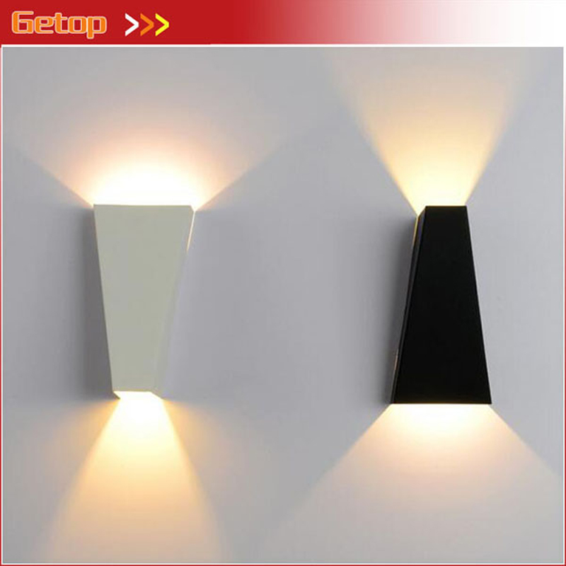 Modern Simple Iron Shell Wall Lamp LED Wall Creative Staircase Hotel Bedroom Living Room Hallway Decorative Lighting Fixture