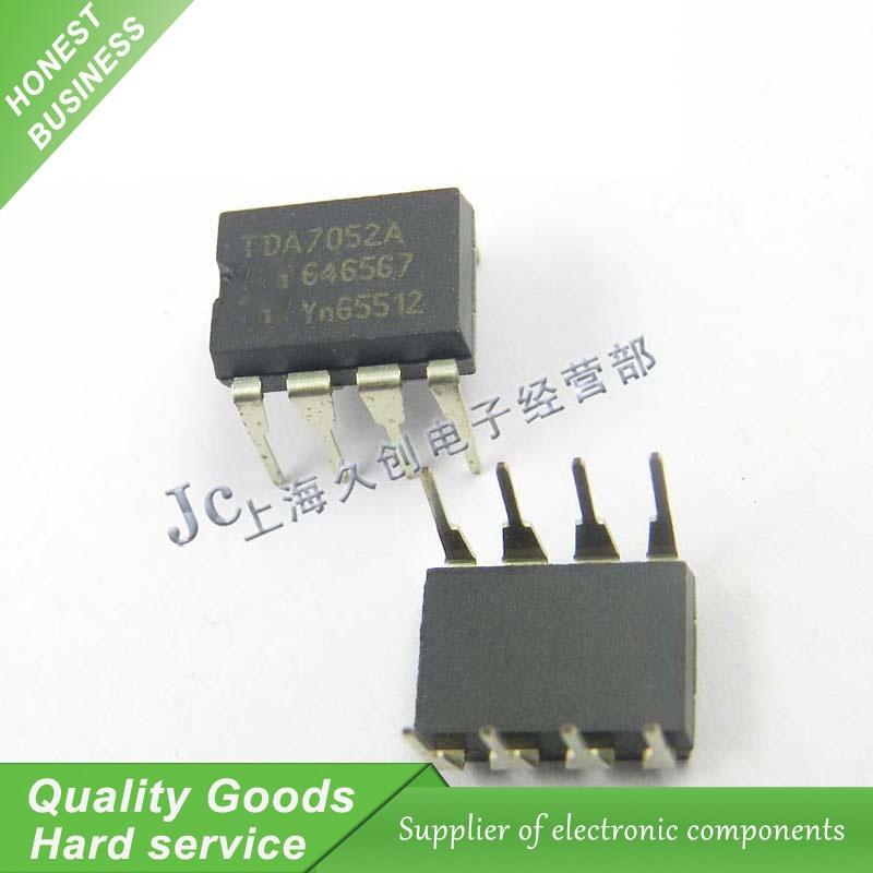 10PCS TDA7052 TDA7052A DIP IC Audio Amplifier New Original Free Shipping
