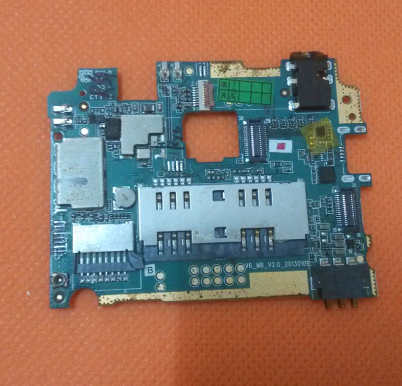 Used Original motherboard 1G font b RAM b font 4G font b ROM b font mainboard