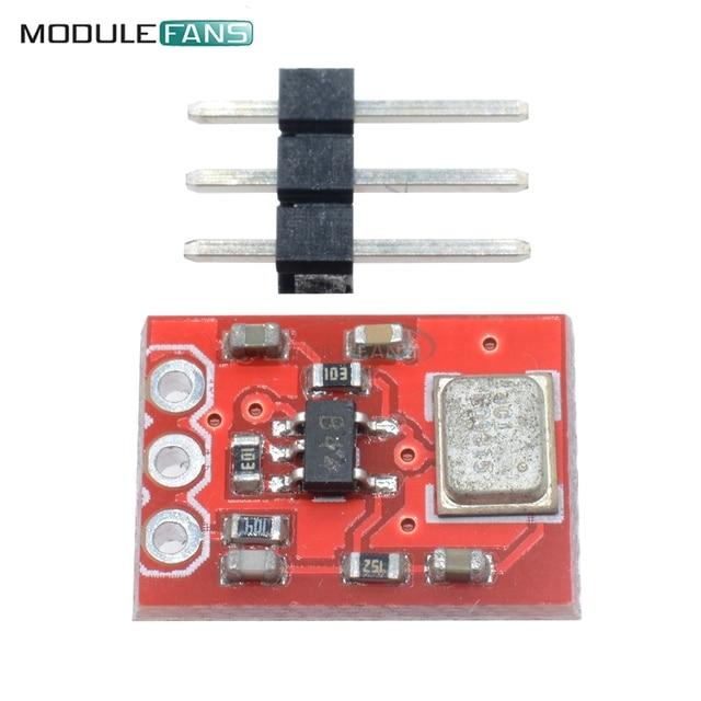 Admp401 mems microfone breakout placa do módulo para arduino universal 1.5 a 3.3vdc com pinos diy módulo eletrônico kit pcb