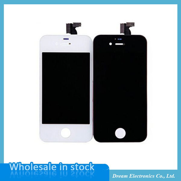 Подробнее о AAA Quality LCD Touch screen digitizer For iPhone 4 4G 4S Mobile Phone LCD Display Assembly white black Replacement Free shiping aaa quality lcd for iphone 4 4s screen display digitizer assembly replacement pantalla black white free gift tools free shipping