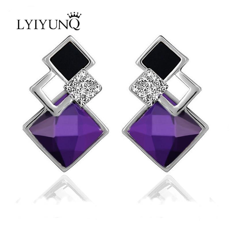 LYIYUNQ Διάσημο ολοκαίνουριο μόδα Brincos - Κοσμήματα μόδας - Φωτογραφία 2