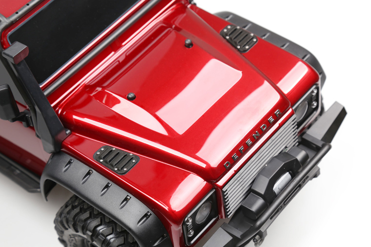 US $18 4 |Rc Climbing Car Upgrade Parts TRAXXAS Trx 4 TRX4 Cover Grille  Cover Air Inlet On Both Sides Of The Cover NEW-in Parts & Accessories from