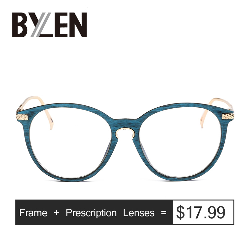 Prescription Glasses Alloy-Frame Eyeglases-Spectacles Reading Optical-Eyewear Women Clear-Degree