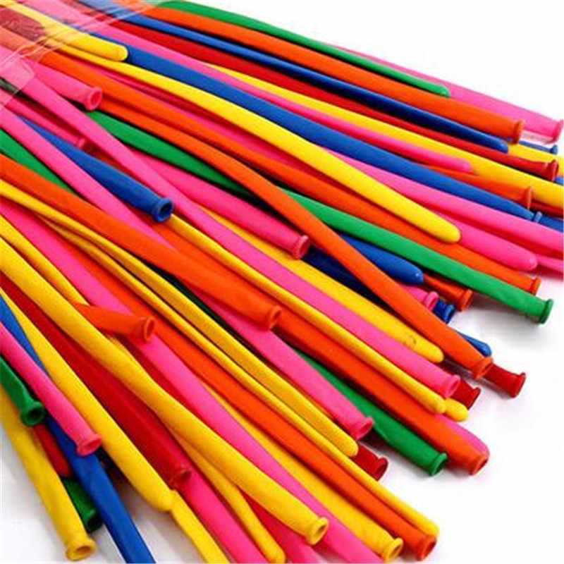 100 шт латексные воздушные гелиевые воздушные шары, надувные плавающие, магический длинный шар для украшения свадьбы, дня рождения, вечеринки