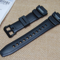 New  Black Silicone Rubber waterproof  Strap  for   casio sgw-500h pu watchbands