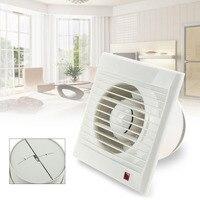 220V 4 Ventilating Exhaust Extractor Fan For Bathroom Toilet Kitchen Ventilation Fans Windows Exhaust Fan