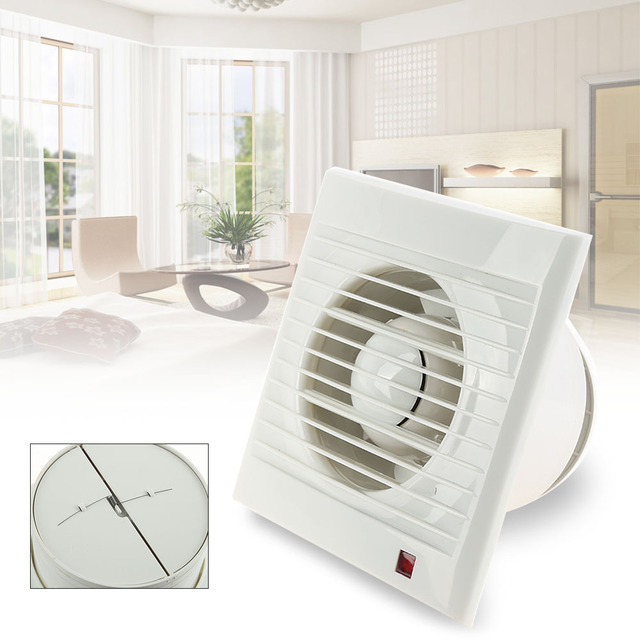 220v 4 Ventilating Exhaust Extractor Fan For Bathroom Toilet Kitchen Ventilation Fans Windows