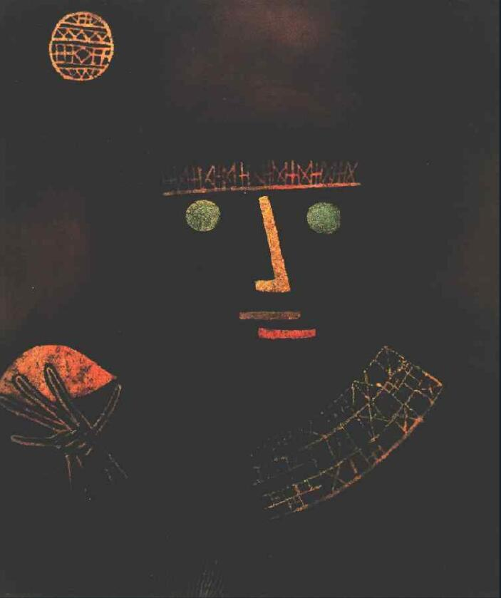 High quality Oil painting Canvas Reproductions Black Knight (1927)  by Paul Klee  Painting hand paintedHigh quality Oil painting Canvas Reproductions Black Knight (1927)  by Paul Klee  Painting hand painted