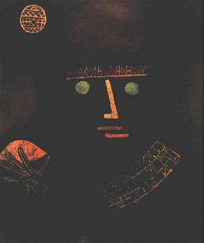 High quality Oil painting Canvas Reproductions Black Knight (1927)  by Paul Klee  Painting hand painted