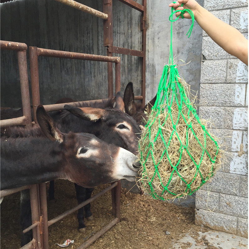 Hay Bag High Quality Equestrian Fodder Bags For Horse Room Feeding Bag Riding Hay Sack Racing Equipment Equitation