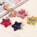 korean glitter star barrettes decorations for children baby hair clips for girls hairpins hair accessories headdressheadwear new