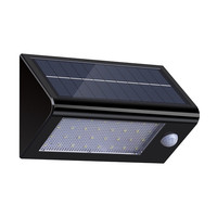 LumiParty Solar Powered Motion Sensor Wall Light 32 LED Outdoor Wireless Waterproof Motion Activated Security Lamps
