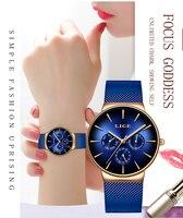 2019 LIGE новые женские часы лучший бренд класса люкс креативный Циферблат Женские часы браслет для дам Наручные часы Montre Femme Relogio Feminino