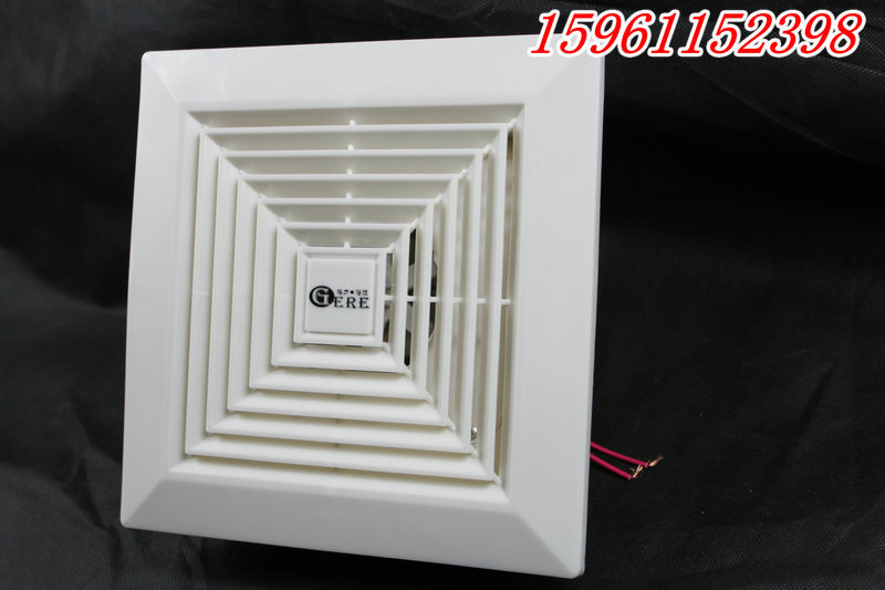 Window Ultra Quiet Fan For Ventilation Kitchen Exhaust Fan Ceiling