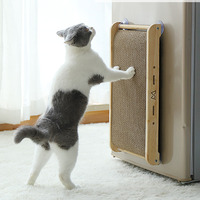 Kitten Scratch Board Cat Scratcher Pad Cat Claws Care Toy Pet Training Kitten Climbing Scratching corrugated paper mat HW076