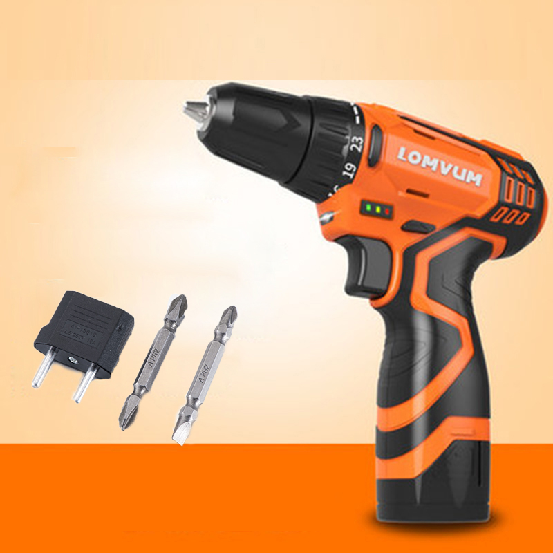 12V 16.8V 25V Battery Screwdriver Electric Screwdriver Power Tools screw gun Electric Cordless Rechargeable Screwdriver free shipping brand proskit upt 32007d frequency modulated electric screwdriver 2 electric screwdriver bit 900 1300rpm tools