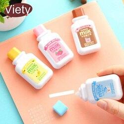 1 x leite bonito material escolar kawaii artigos de papelaria para material escolar escritório papelaria fita corretiva 6 M