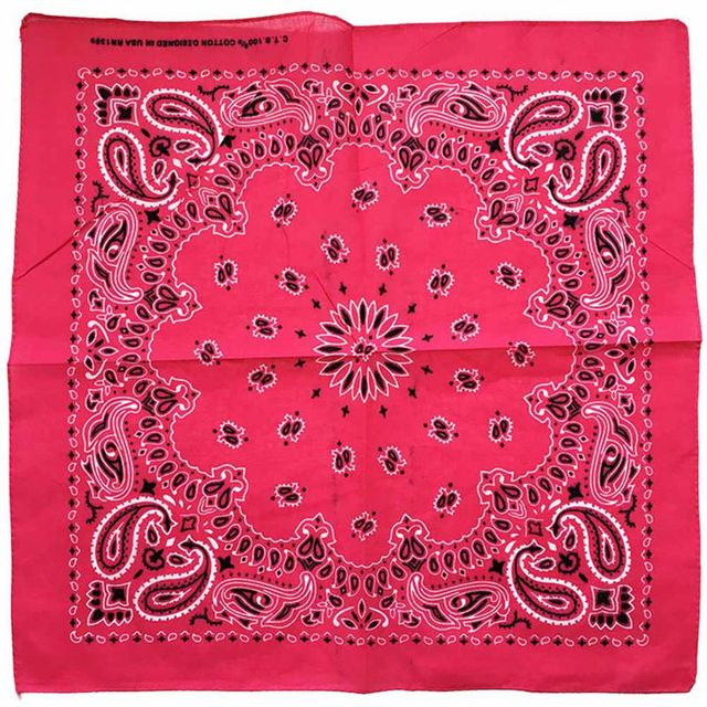 Cute Women Print Bandana Scarf Square Head Scarf Female Motorcycle Headwear Outdoor Cool Activities Riding Collar Dec8