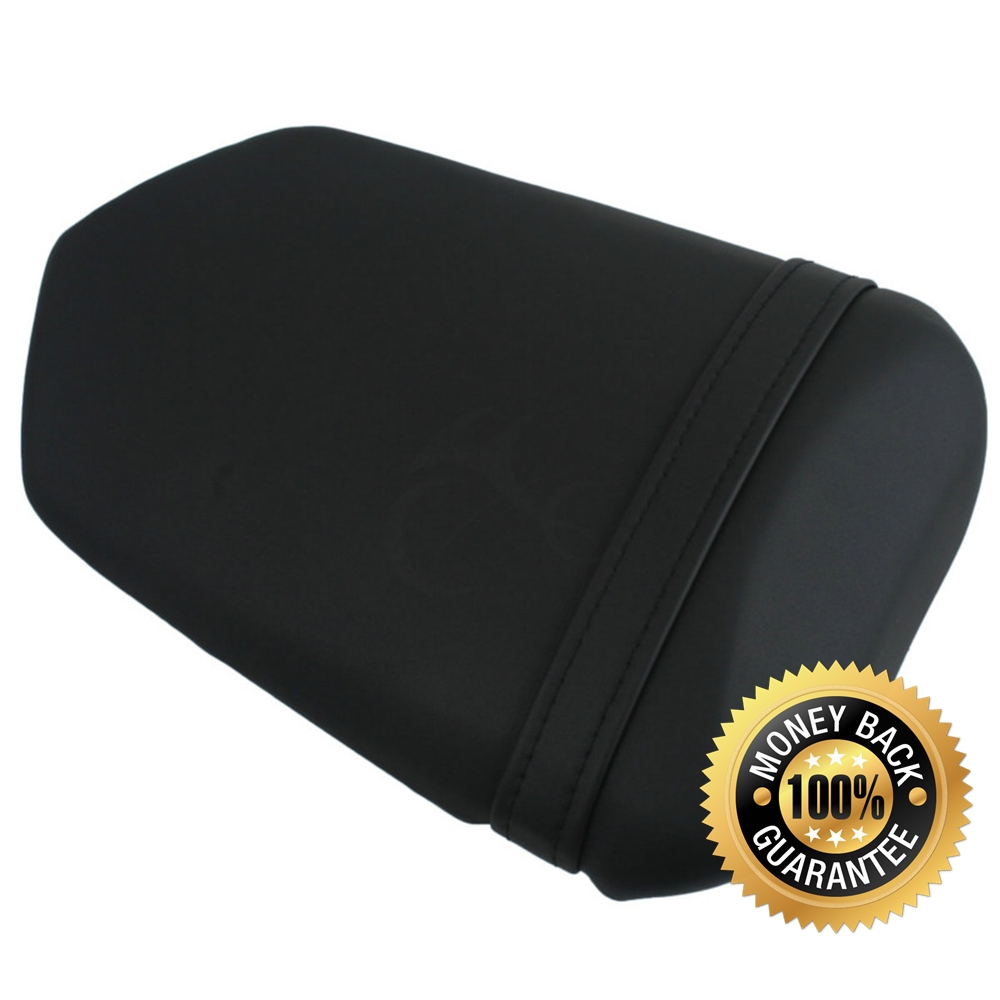 For  YAMAHA YZF R1 2004-2006 205 04 05 06 Motorcycle Synthetic Leather Passenger Rear Back Seat Cover Cushion Pillion