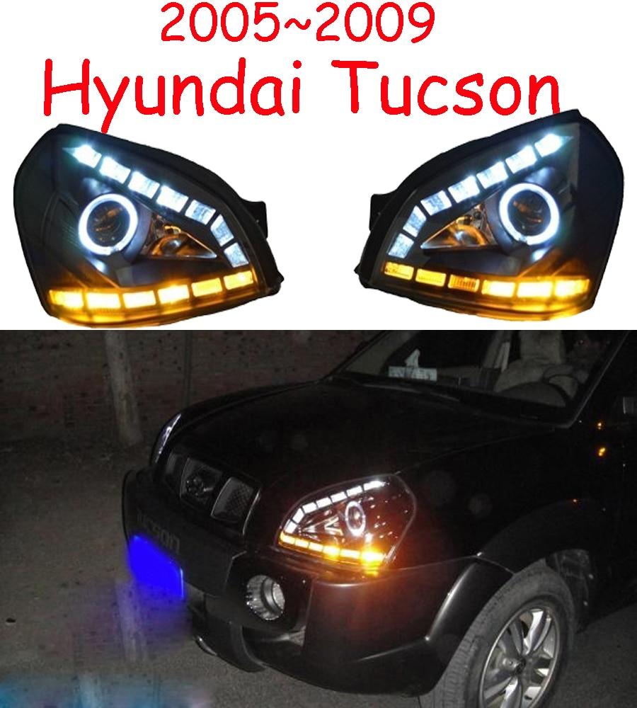 HID, 2005 ~ 2009, style de voiture, phare Tucson, Solaris, accent, Elantra, Genesis, i10, i20, santa fe, lantra; phare Tucson