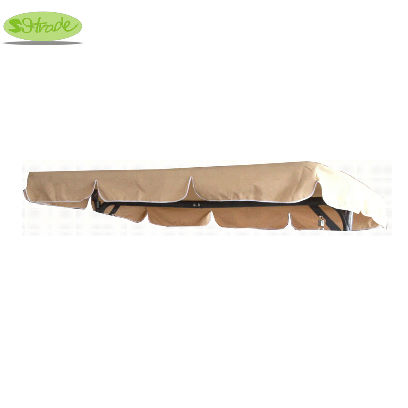 Swing Chair Canopy Replacement Hanging In Room For Patio Outdoor Hammock Beige190x120cm 74 8x47