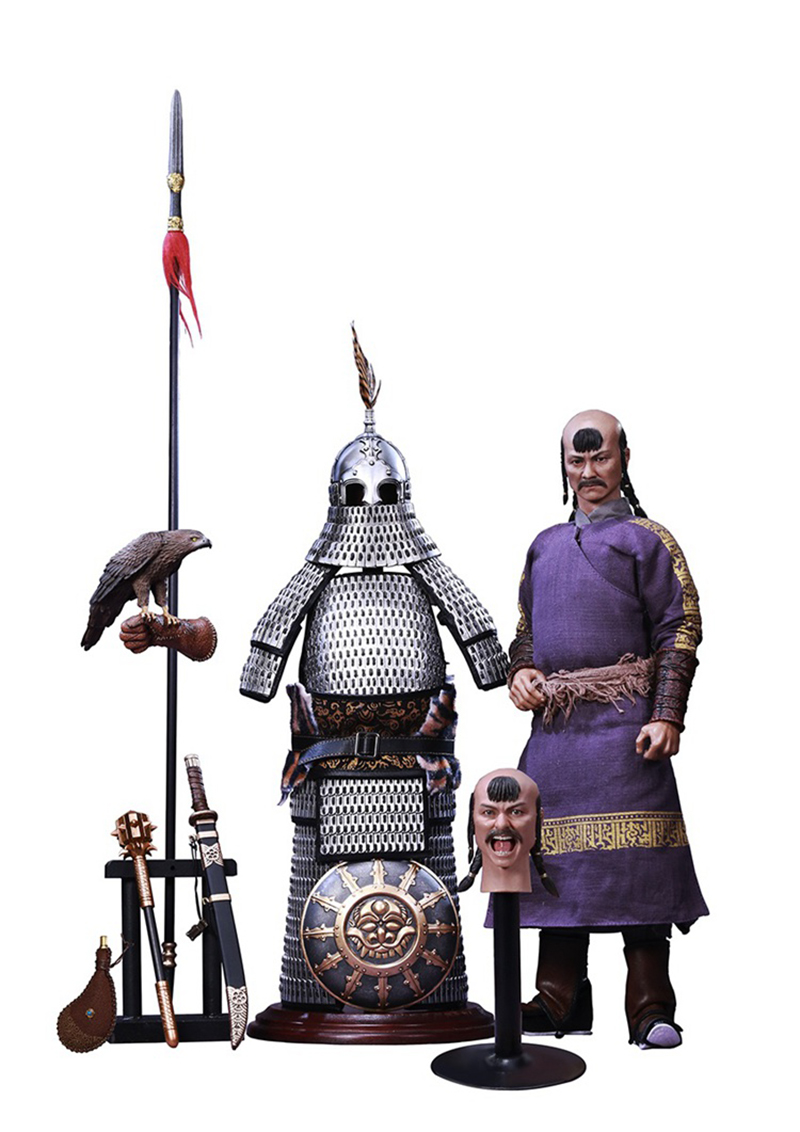 POPTOYS 1//6 DS001 The Jurchen Jin Dynasty Iron pagoda War Horse
