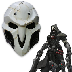 High quality over watch game mask pvc cosplay reaper mask helmet halloween reaper party mask.jpg 250x250