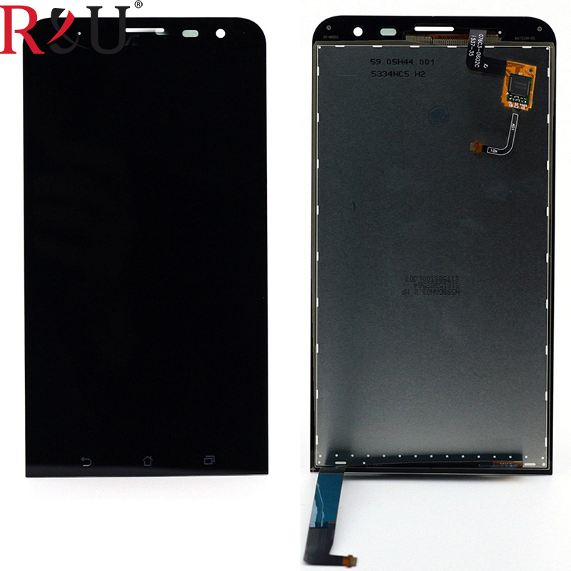 R&U high quality lcd screen display with touch screen digitizer assembly For 6 Asus ZenFone 2 ZenFone2 ZE601KL