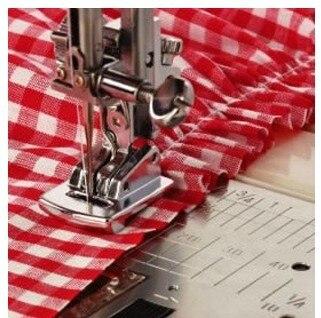Household sewing machine presser foot bilateral pleating presser foot Fine plait presser foot Fold presser foot P60502