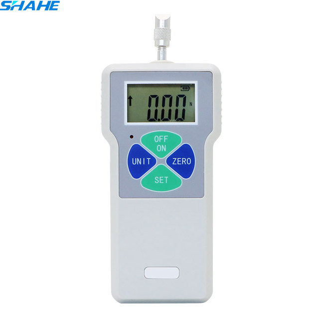 SHAHE Digital Push Pull Force Gauge Portable Dynamometer Force Tester Meter 100N/200N /300N/500N Measurement Instruments