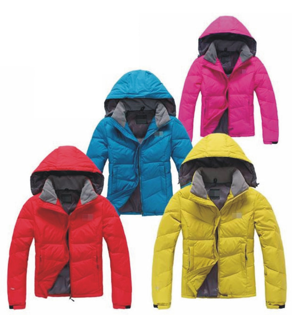 Free shipping!!!Hoody jacket outerwear goose down coat women ...