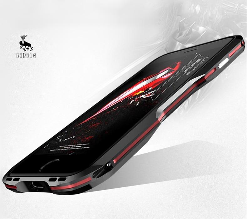iPhone X 7 8 Plus Luphie Metal Bumper Aluminum Case (4)