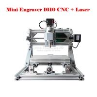 New Laser CNC 2 In 1 Mini CNC 1610 500mw Laser CNC Engraving Machine Wood Carving