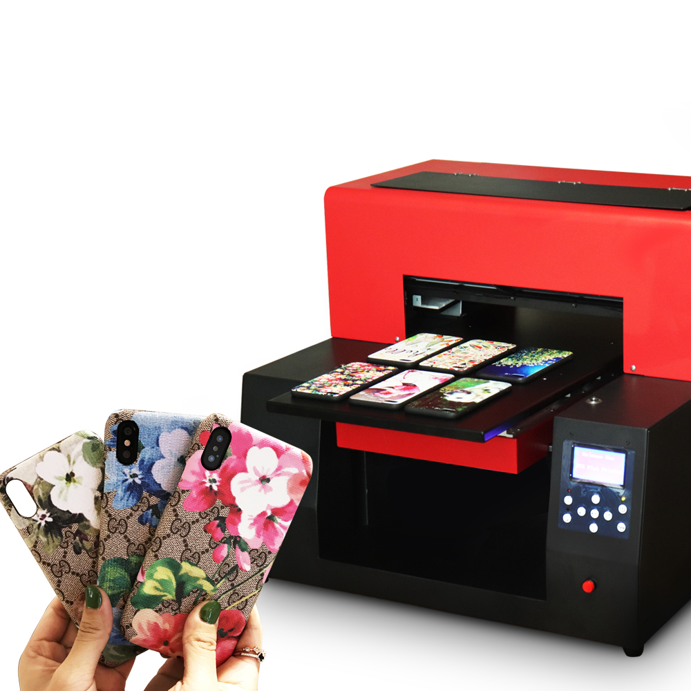 Colorsun Automatico A3 stampante uv per la bottiglia/bottiglia di vetro/legno/metallo/PVC/acrilico/piastrelle/ in pelle stampa A3 UV cassa del telefono stampante