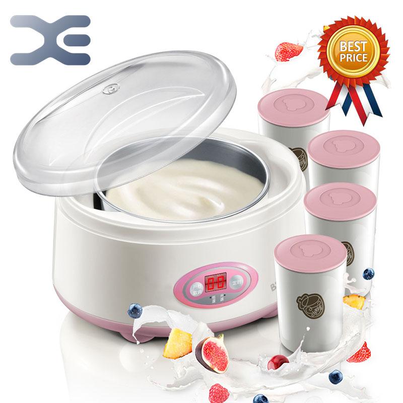 Kitchen Appliance Yogurt Makers Thermoregulator 4 Pcs Porcelain Cup Yogurt Cup MultivarkaKitchen Appliance Yogurt Makers Thermoregulator 4 Pcs Porcelain Cup Yogurt Cup Multivarka