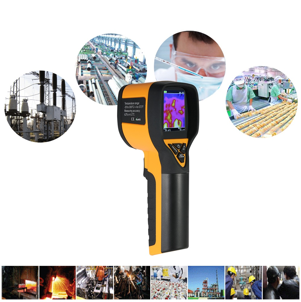 20 to 300 Celsius High HT 175 Univeral Infrared Thermal Imaging Camera 1024P 32x32 IR