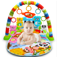 Baby Play Mat Rug Toys Kid Crawling Music Play Game Developing Mat with Piano Keyboard Infant Carpet Education Rack Toy play floor piano kid stepping toys electronic music keyboard giant mat dance exercise mat sport toys for kids children
