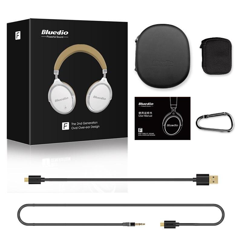 bluedio f2 anc wireless bluetooth headphones with microphone