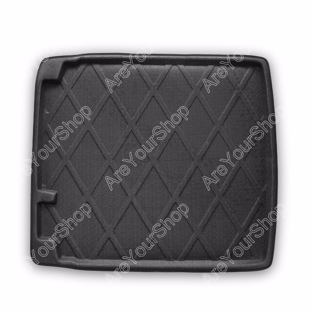 For Volkswagen CC 2008-2013 Car Auto Cargo Mat Boot liner Tray Rear Trunk Stickers Dog Pet Covers 1PCS Black Car-Styling Sticker car rear trunk security shield cargo cover for jeep compass 2007 2008 2009 2010 2011 high qualit auto accessories