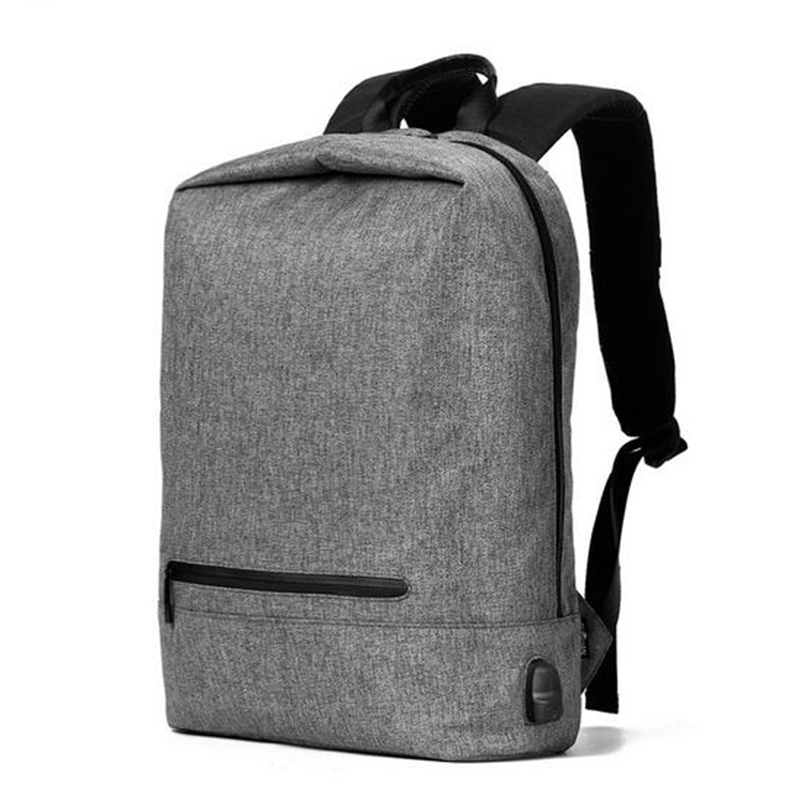 Men Backpack 2017 New 17 inch USB Charge Laptop Backpack Large Capacity Casual Style Bag Waterproof Oxford School Bag ozuko 14 inch laptop backpack large capacity waterproof men business computer bag oxford travel mochila school bag for teenagers