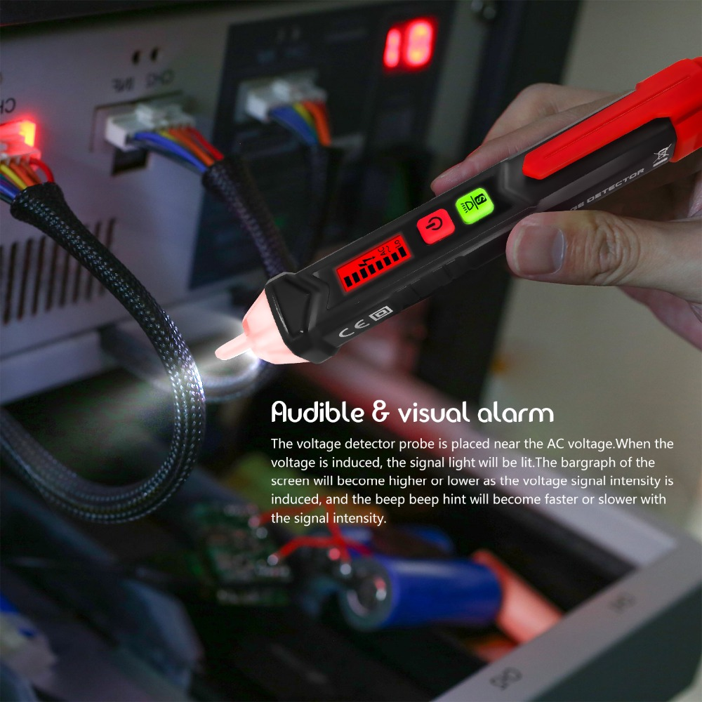 Protmex Digital Hygrometer Mildewwetthermo Indoor Dew Detector Probe Circuit 50 60hz Ac 12 1000v Non Contact Voltage Tester Pen Socket Wall