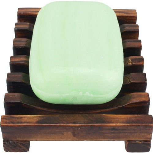 1 PC naturalne drewno drewniane mydelniczka Taca uchwyt wanna prysznic płyta zestawy akcesoriów łazienkowych