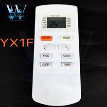 AWO mando Universal de aire acondicionado, reemplazo para Gree AC Yx1f1 Yx1f2 Yx1f3 Yx1f4 Yx1f5f Yx1f5, 1 Uds.