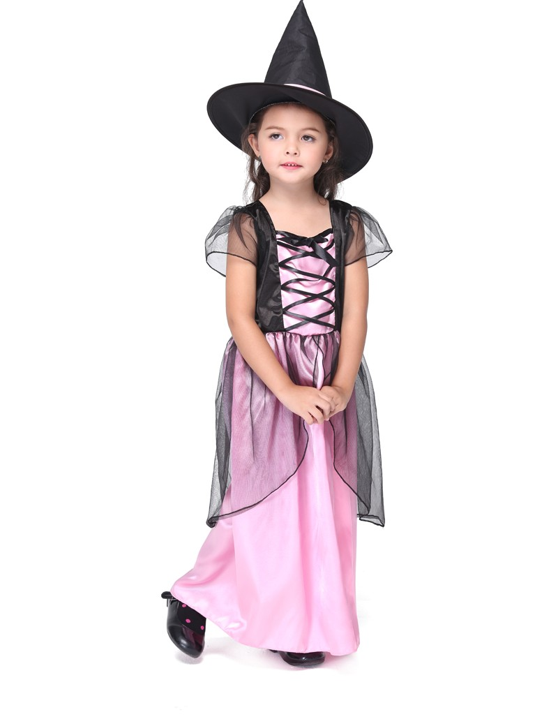 Popular Kids Witch Halloween Costumes-Buy Cheap Kids Witch ...