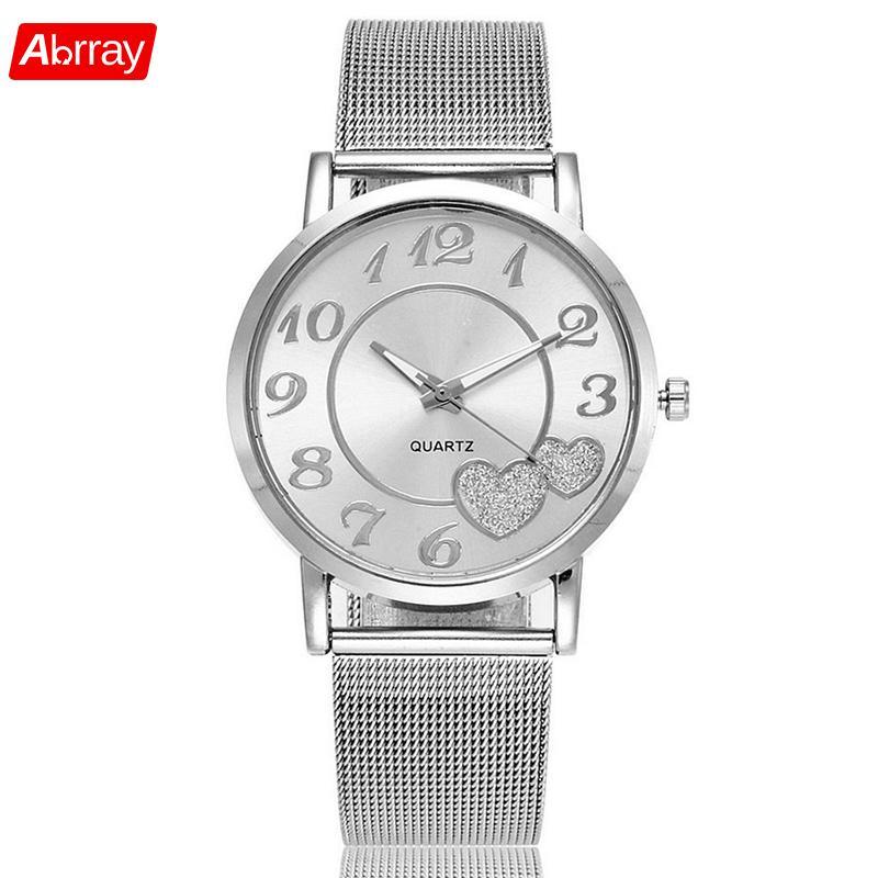Abrray Elegant Women Quartz Watch Ladies Dress Watches Fashi
