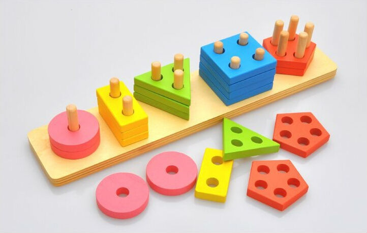 Buy new montessori cylinder blocks free for Materials for kids