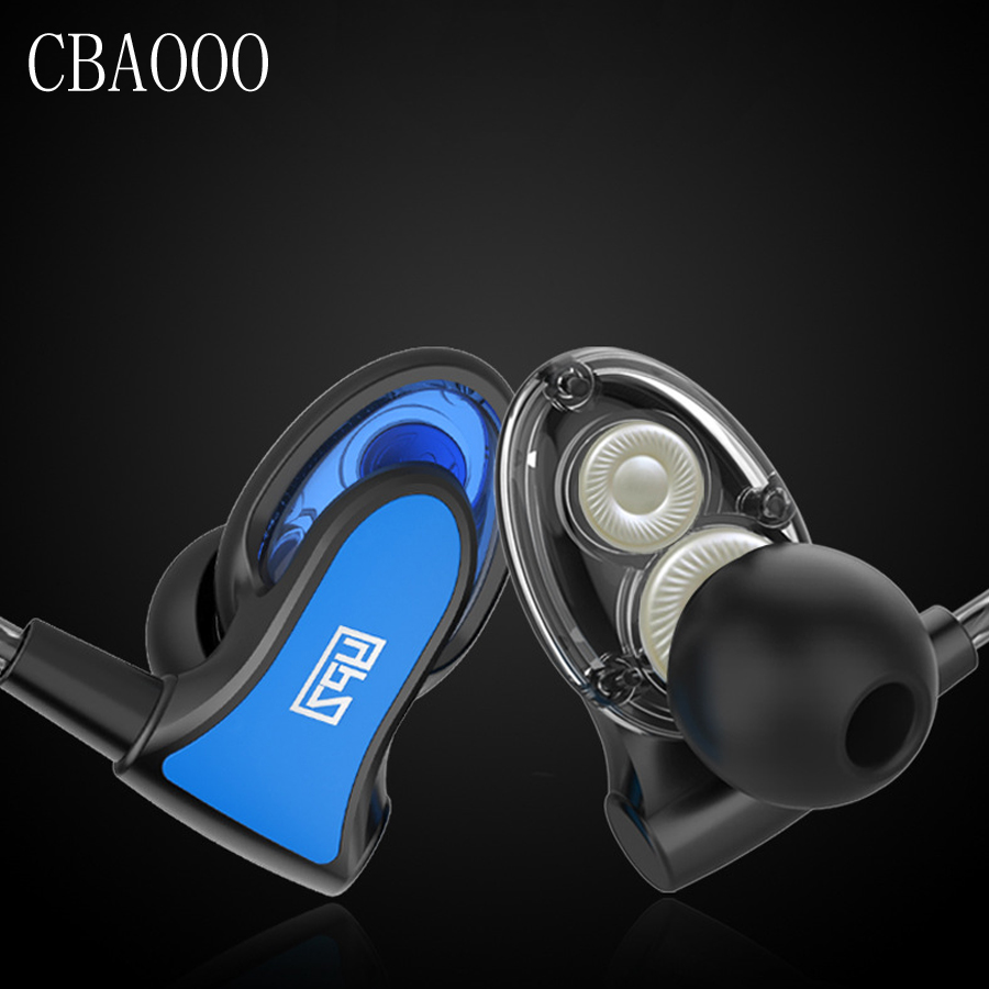 CBAOOO Bass Stereo Earphones Ear hook Headset Dual Drive Sport Headphone whit MIC 3.5MM for Iphone Samsung Xiaomi Sport earphone rock y10 stereo headphone earphone microphone stereo bass wired headset for music computer game with mic