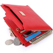 PU Leather Women Wallet And Purse Billeteras Mujer Women Short Wallet Carteira Porte Monnaie Homme 3 Colors Coin Clutch